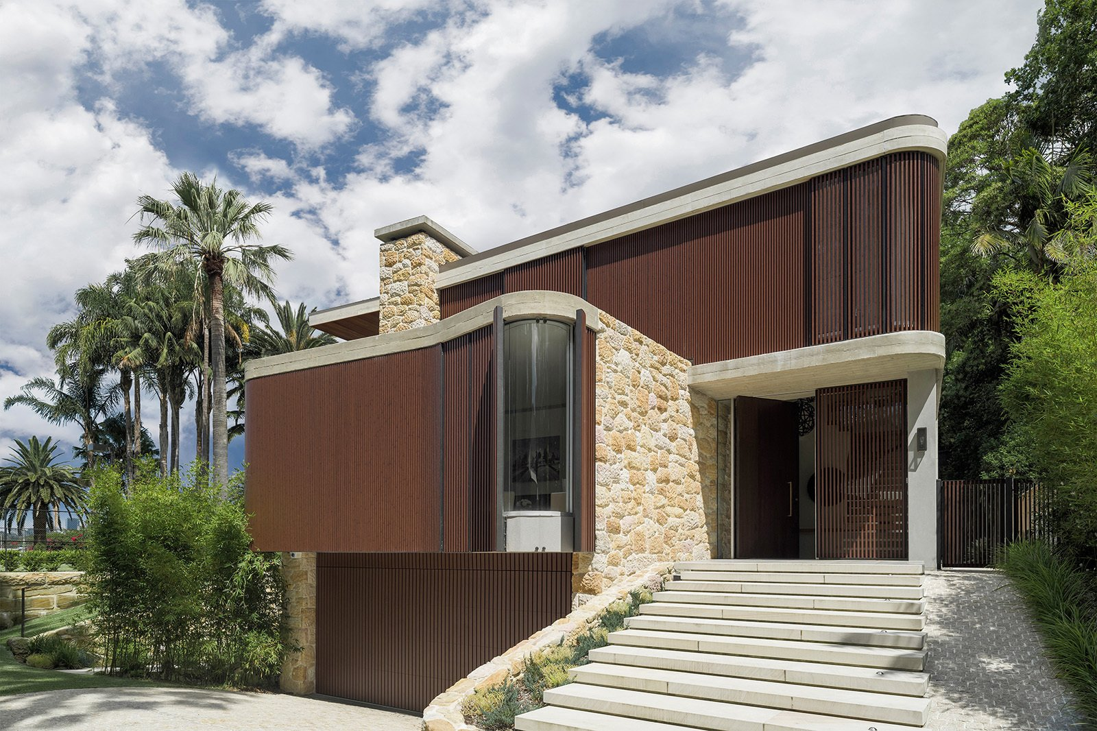 Tagged: Exterior and House.  Sticks & Stones Home by Luigi Rosselli Architects