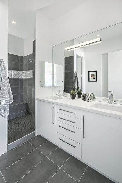 Bathroom #infill #development #townhouse #phoenix #modern #urban #townhome #bathroom Photo 7 of Uptown Row modern home