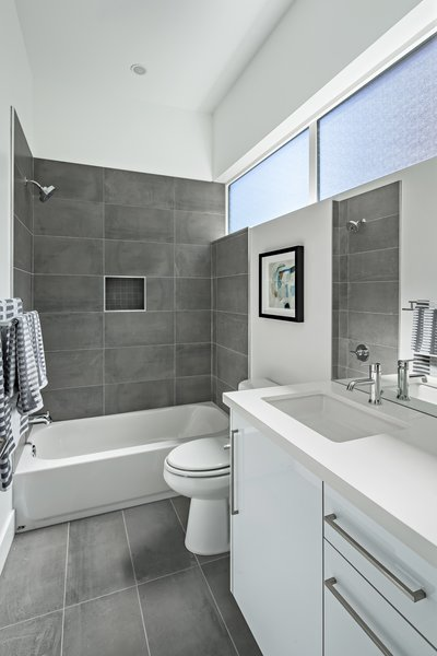 Bathroom #bath #shower #naturallight Photo 13 of Uptown Row modern home