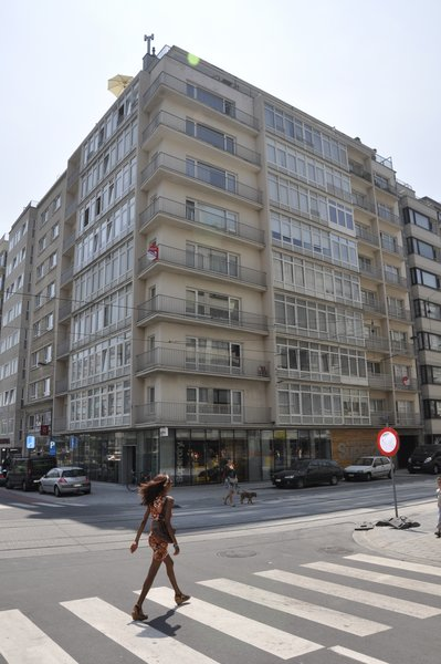 The shop is at the end of the main shopping street in Ostend. Photo  of SUPER DRY modern home