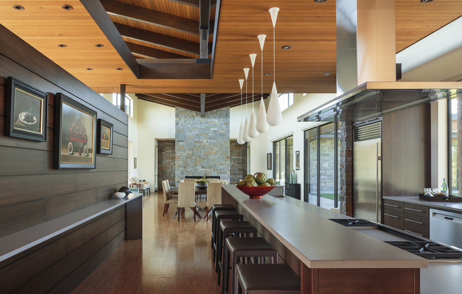 Kitchen  Westwind Residence by Giulietti / Schouten AIA Architects