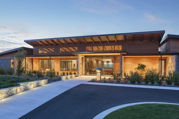 Approach Photo 9 of Westwind Residence modern home
