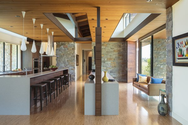 Entry + Kitchen Photo 10 of Westwind Residence modern home