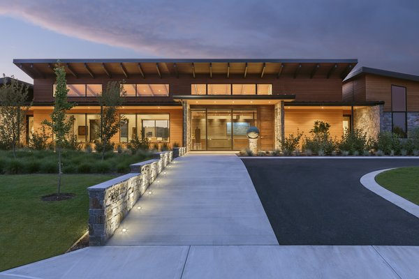 Entry Approach Photo 7 of Westwind Residence modern home