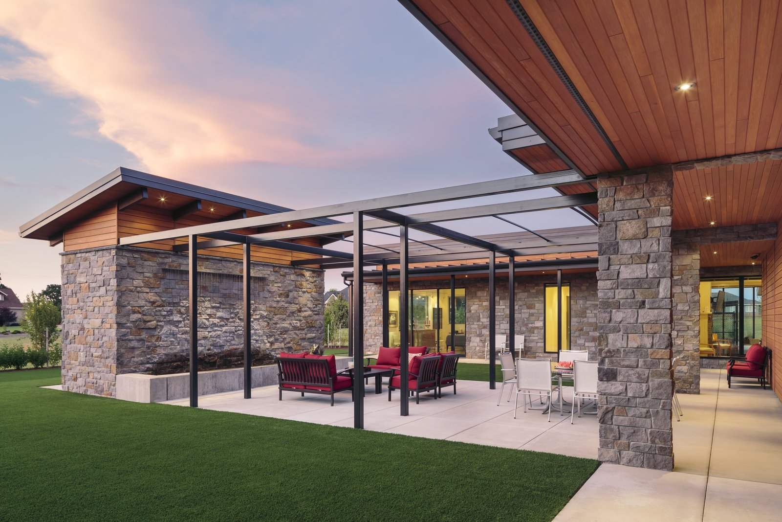 Outdoor Patio  Westwind Residence by Giulietti / Schouten AIA Architects