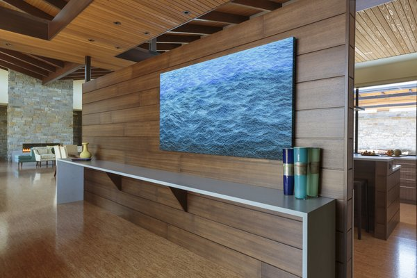 Entry Screen Wall Photo 3 of Westwind Residence modern home