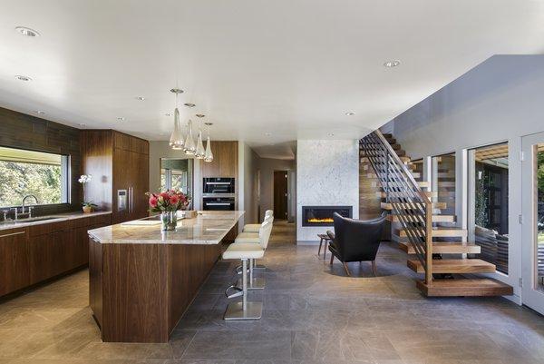 Kitchen + Stairs Photo 2 of Myrtle MidCentury modern home