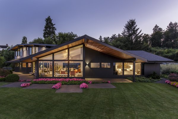 East Facade Photo  of Myrtle MidCentury modern home