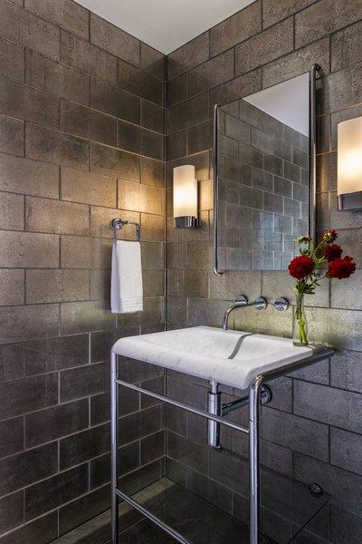 Powder Room Photo 4 of Myrtle MidCentury modern home