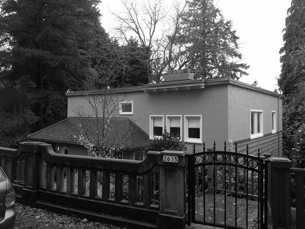 Before: Street View Photo  of Heiser Residence modern home