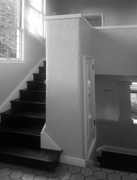 Before: Entry / Stair Photo 3 of Heiser Residence modern home