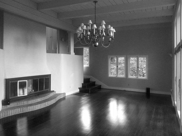Before: Living Photo 4 of Heiser Residence modern home