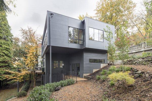 Side Yard Photo 17 of Heiser Residence modern home