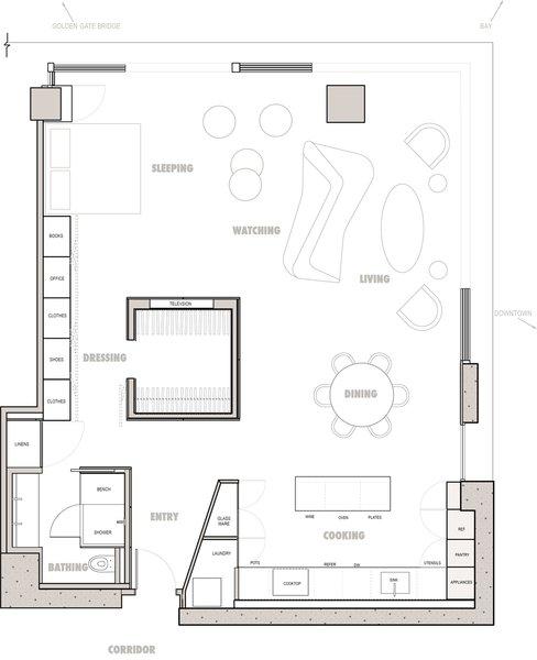 Photo 14 of Midcentury Minimal Studio modern home
