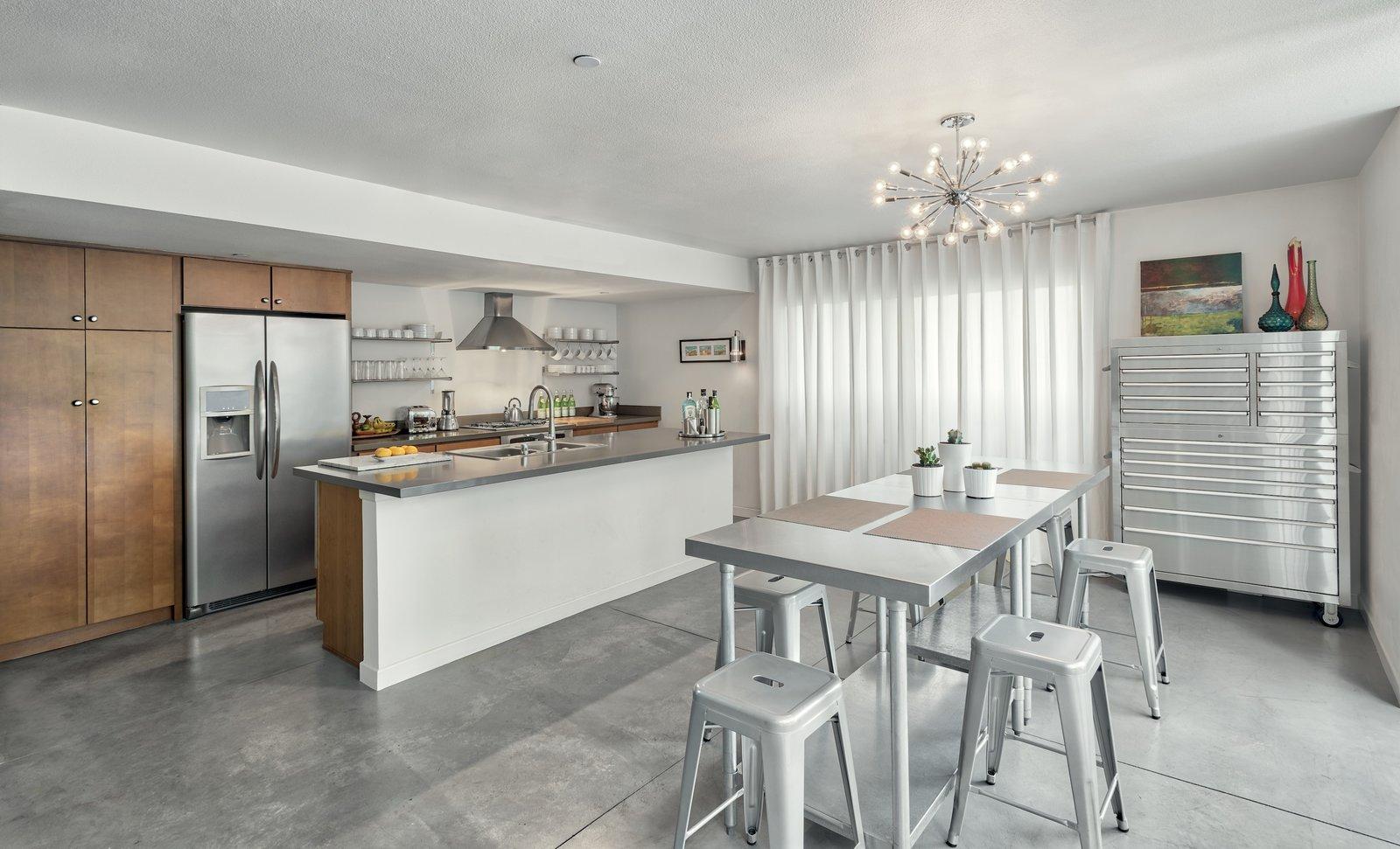 Kitchen/Dining/Work Area