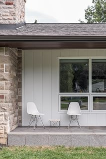 The Eco-Friendly Guide to Upgrading an Existing Home - Photo 2 of 8 - Midcentury homes often incorporated shading devices like front and back porches.