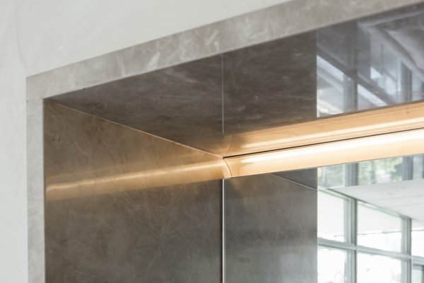 Recessed lighting is integrated Photo 19 of Thompson Hotel Private Suite modern home