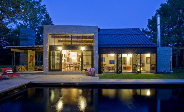 Photo  of Folly Farm modern home