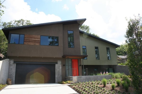 Modern home with outdoor. Photo 15 of Simple Haus