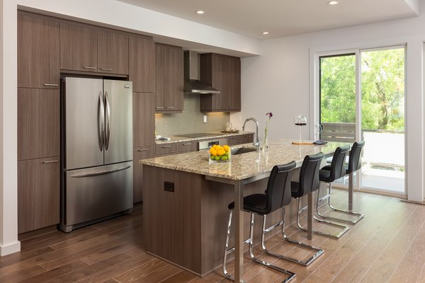 Modern home with kitchen. Photo 6 of Axis Townhomes