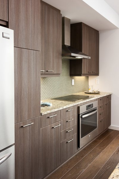 Modern home with kitchen. Photo 7 of Axis Townhomes