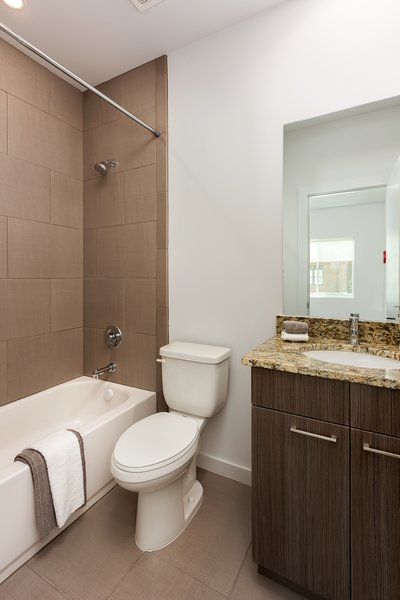 Modern home with bath room. Photo 13 of Axis Townhomes
