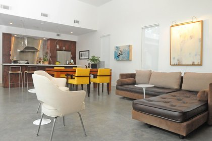 Tagged: Living Room, Sectional, and Concrete Floor. Custer by TaC studios