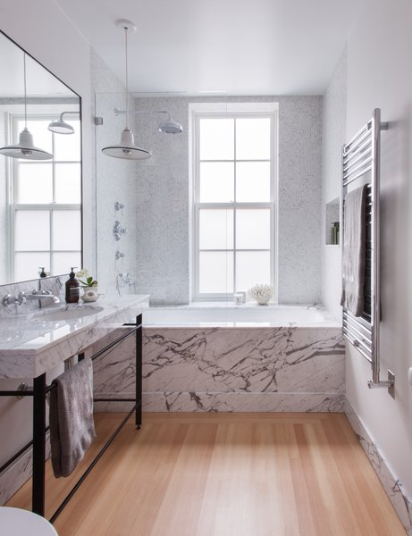 Clinton Hill Townhouse Renovation - Master Bath