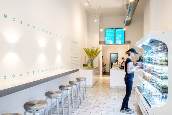 Magic Mix Juicery - Downtown location  #NewYork  #interiordesign #architecture #architects #juicery #light #studio #contemporary #modern #nyc #usa #design #nice #inspiration #designer #interiordesigner #furniture #interior #commercial #juices  Photo 2 of Magic Mix Juicery modern home