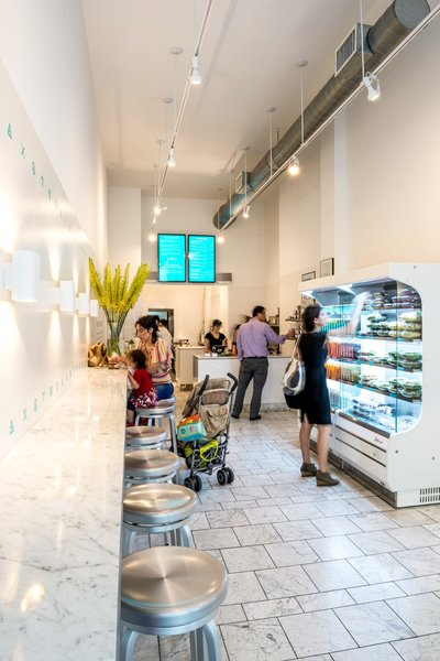 Magic Mix Juicery - Downtown location  #NewYork  #interiordesign #architecture #architects #juicery #light #studio #contemporary #modern #nyc #usa #design #nice #inspiration #designer #interiordesigner #furniture #interior #commercial #juices  Photo 4 of Magic Mix Juicery modern home