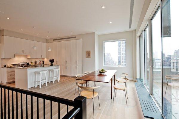 Midtown Duplex  #NewYork #interiordesign #architecture #architects #light #apartment #contemporary #modern #nyc #usa #design #nice #inspiration #designer #interiordesigner #furniture #interior #home #house #diningroom #kitchen #windows #views  Photo  of Midtown Duplex modern home