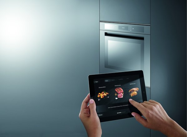 Liebher - refrigeration and freezer appliances able to network with mobile devices help in shopping and meal planning using Cameras with object recognition.