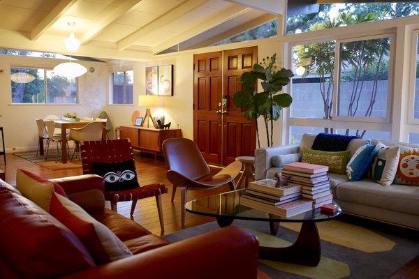 Open concept living in 1954! Photo 4 of Kallin Rancho modern home
