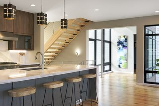 "Minneapolis Modern ""Dream Home"" Built by Sustainable 9 Design + Build - Photo 7 of 10 -"