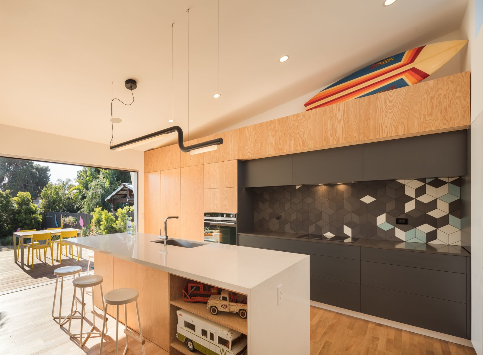 Pipeline LED light by ANDlight in Vancouver The Beach Lab by Surfside Projects