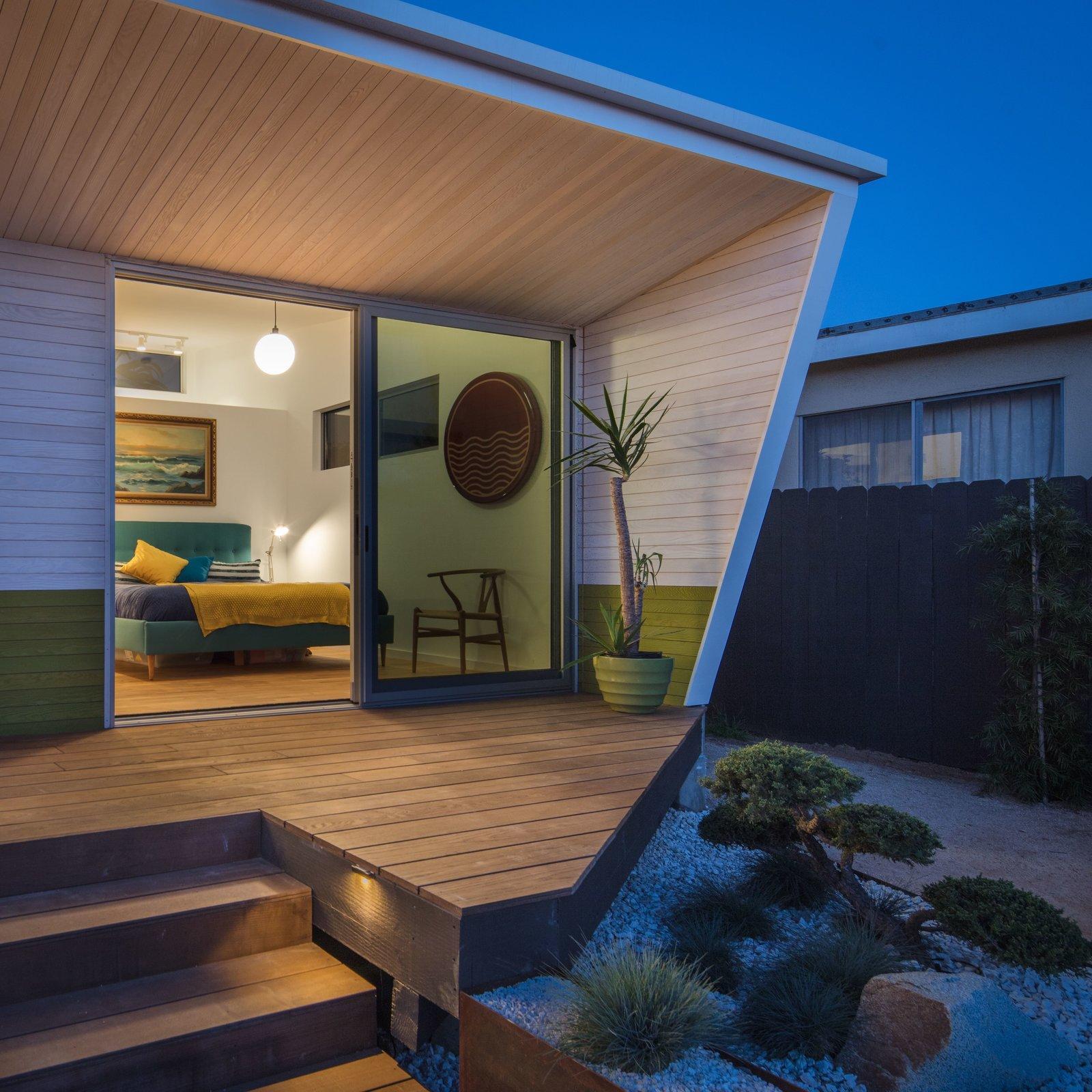 Bonsai Garden + Master bedroom