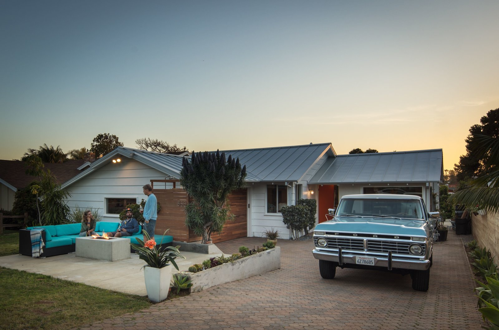 1973 Ford F250 + front fire pit   The Beach Lab by Surfside Projects