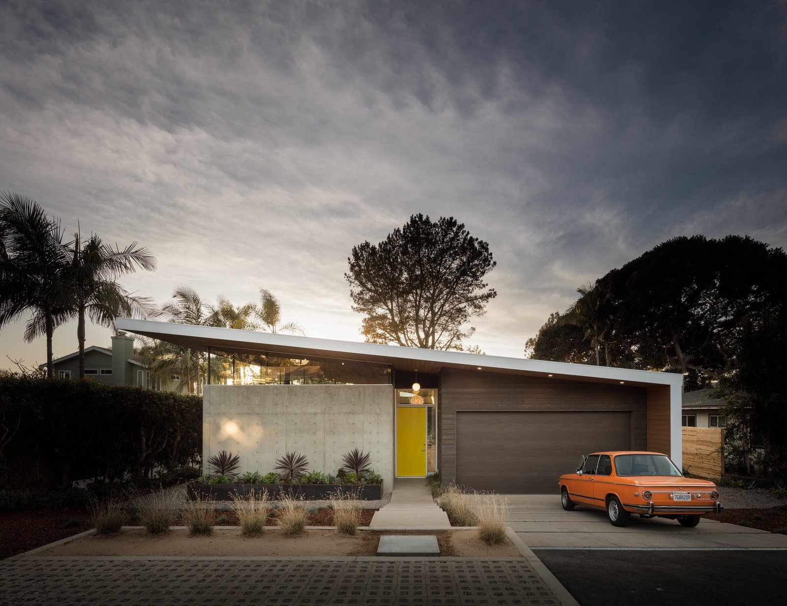 '73 BMW 2002 Tagged: Garage and Attached Garage.  Avocado Acres House by Surfside Projects