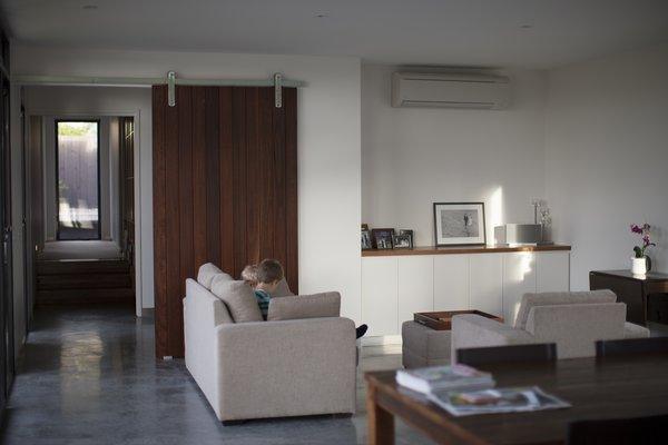 Feature Internal Sliding Door & Polished Concrete Floors Photo 16 of Pod Residence modern home