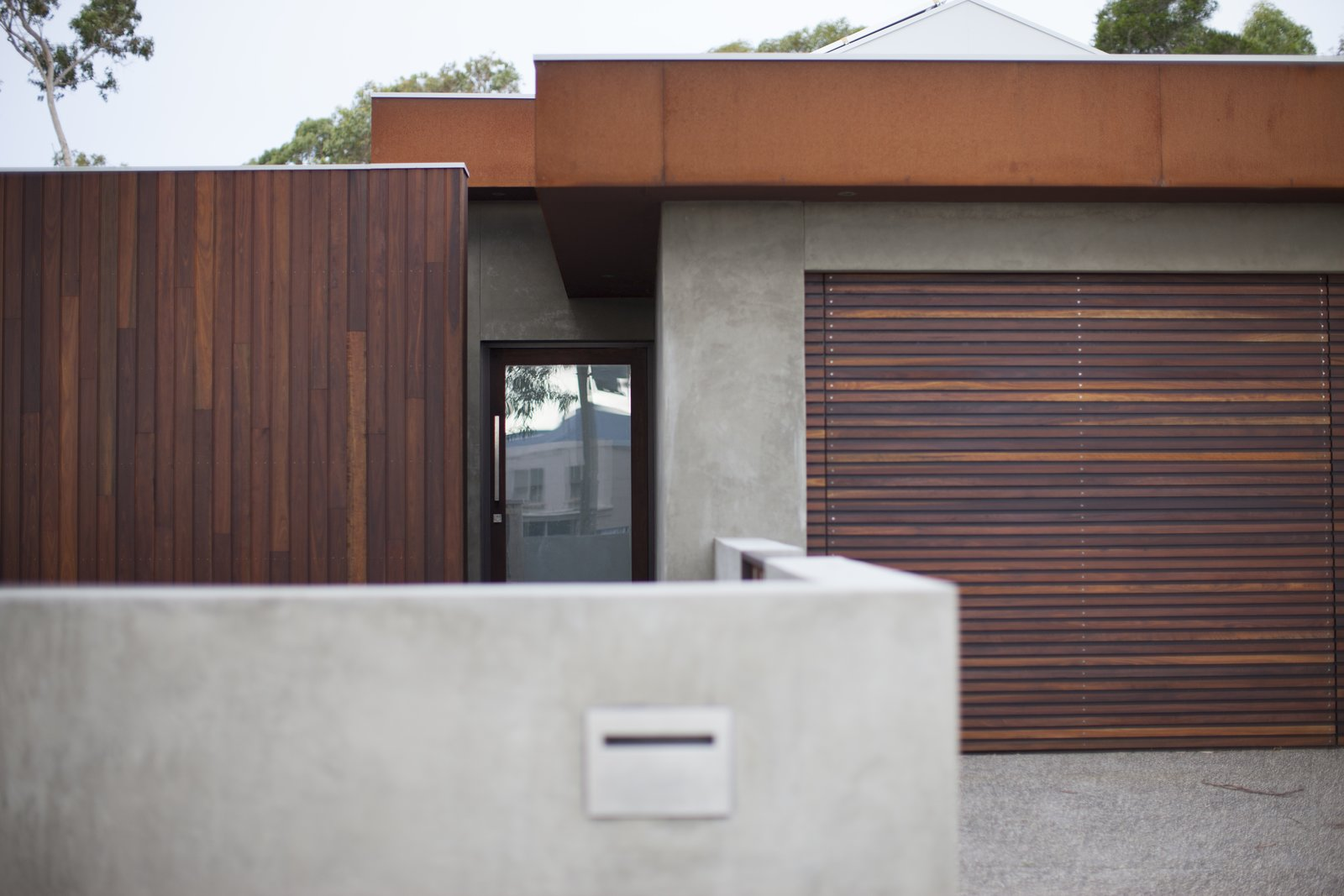 Front Door Pod Residence by Bespoke Architects