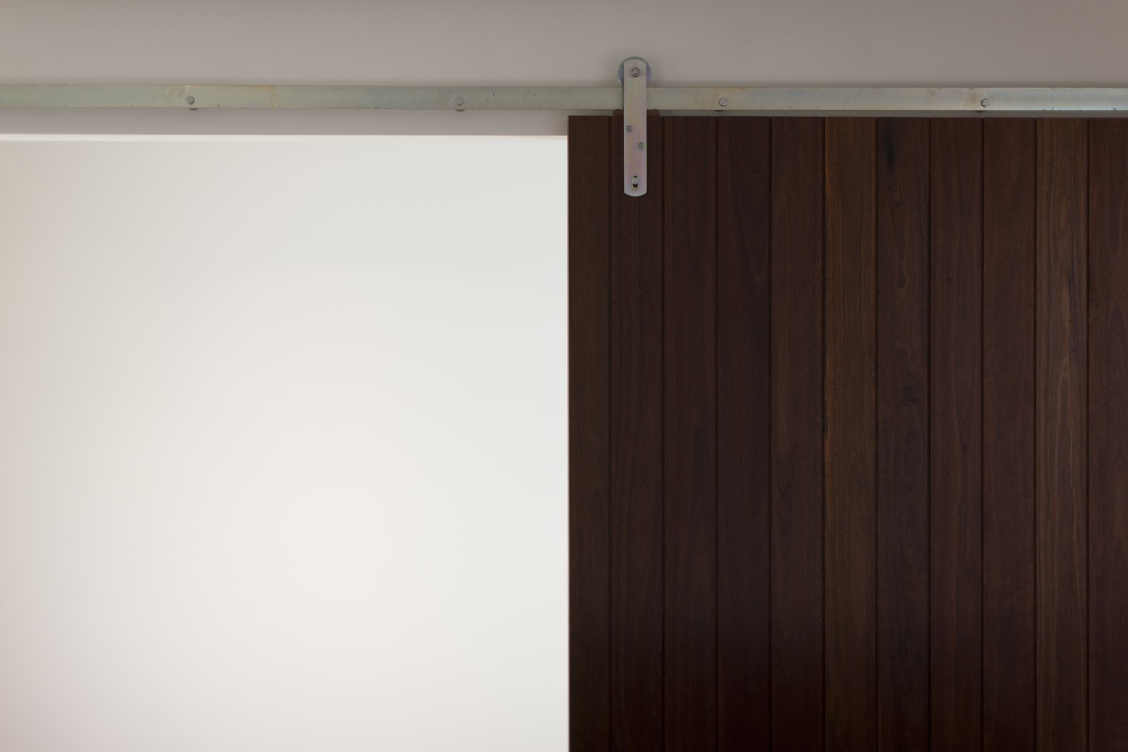 Internal Feature Sliding Door  Pod Residence by Bespoke Architects