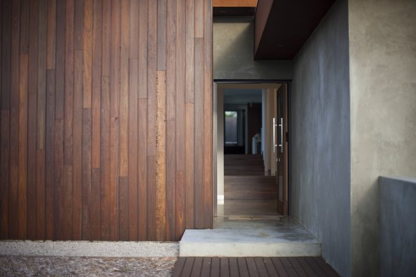 Entry Showing Internal Spotted Gum Stairs Photo 18 of Pod Residence modern home