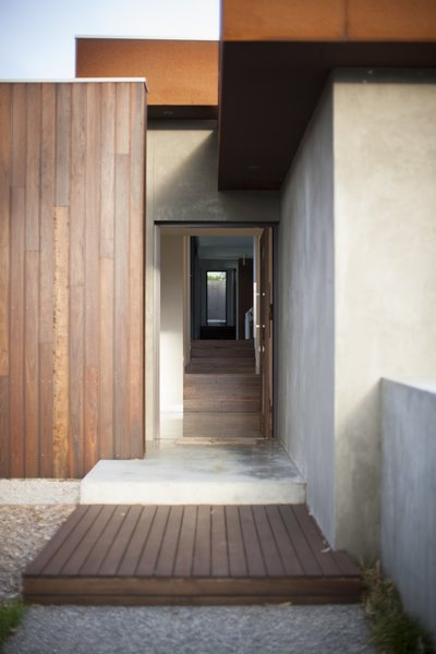 Entry Showing Internal Spotted Gum Stairs Photo 17 of Pod Residence modern home