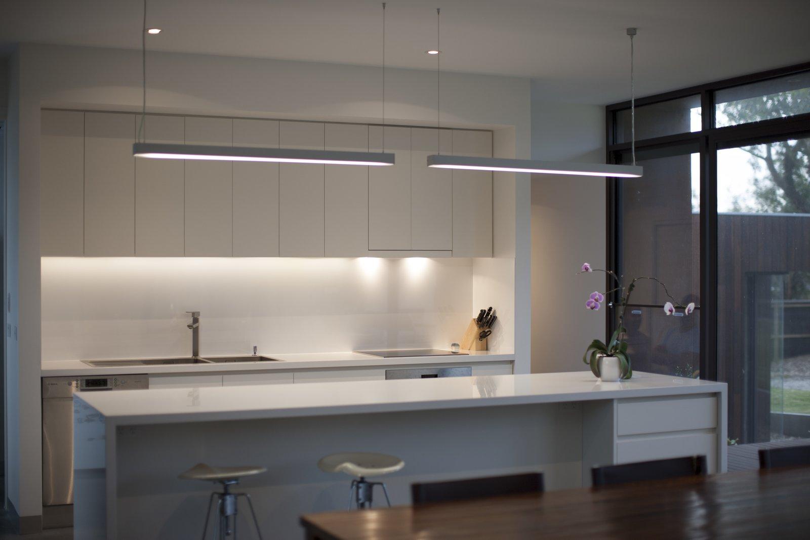 Streamlined Kitchen  Pod Residence by Bespoke Architects