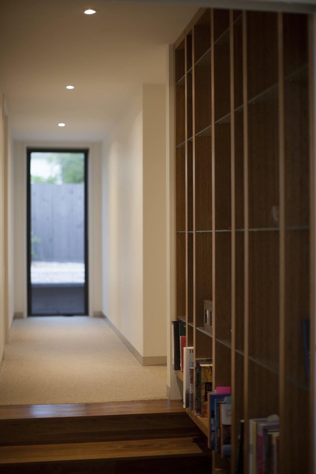 Floating Bookcase   Pod Residence by Bespoke Architects
