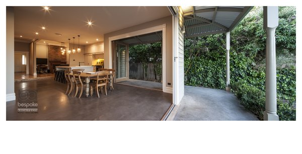 Indoor Outdoor Dining Area  Photo 6 of Bespoke Renovation 5 modern home