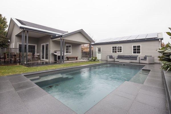 Swimming Pool Photo  of Bespoke Renovation 7 modern home