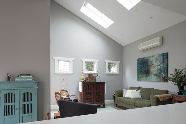 Skylights over Living Area  Photo 13 of Bespoke Renovation 7 modern home