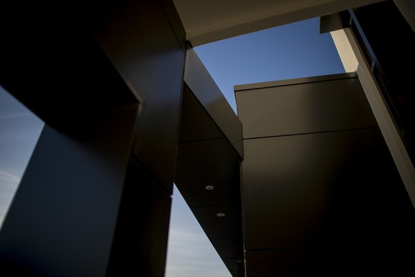 Front Entry Detail Photo 7 of Bespoke Derbyshire House 2 modern home
