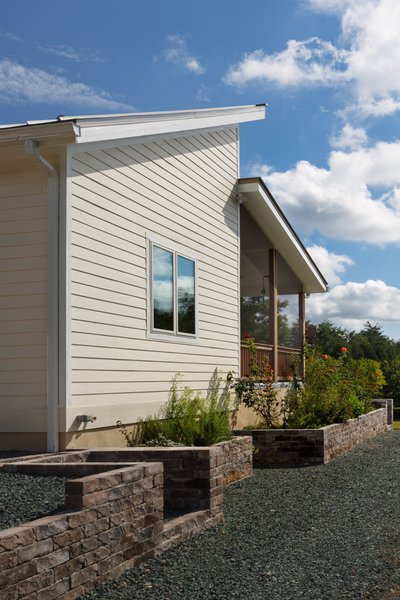 Prefabricated net-zero home by Deltec Homes Photo 5 of Net-Zero Prefab Home modern home